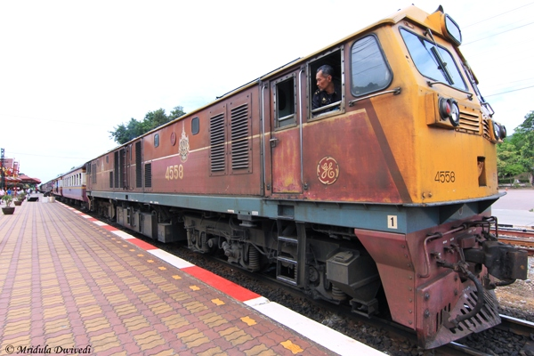 Train, Hua Hin Railway Station