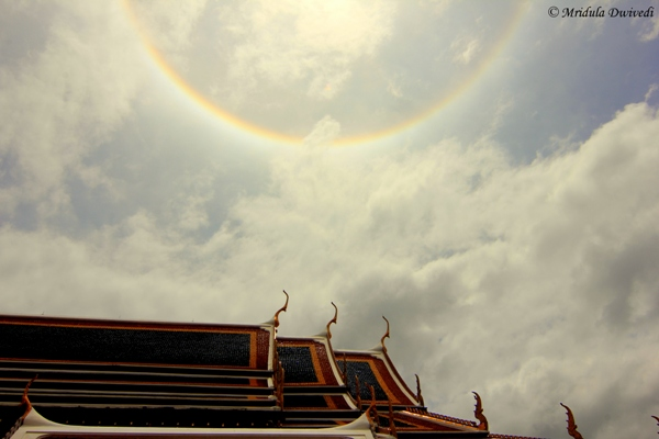 Halo Round the Sun, Grand Palace, Bangkok