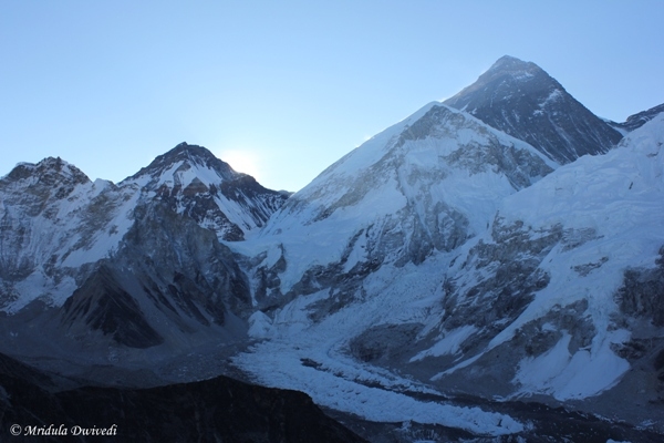 Mount Everest as seen from Kala Patthar, Nepal