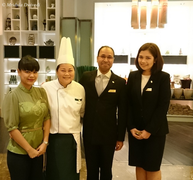 The Team at Sheraton Grande Sukhumvit