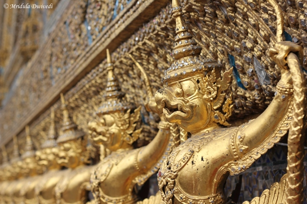 Golden Guards of the Emerald Buddha