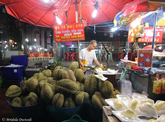 First Taste of Durian
