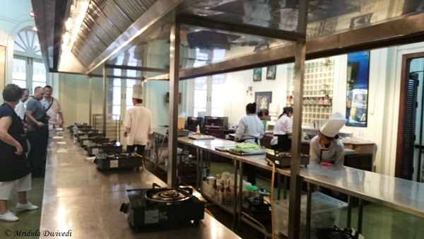 The Kitchen at the Blue Elephant, Bangkok