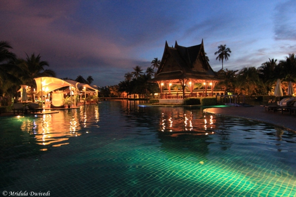 The Beautiful Swimming Pool at Sofitel Krabi