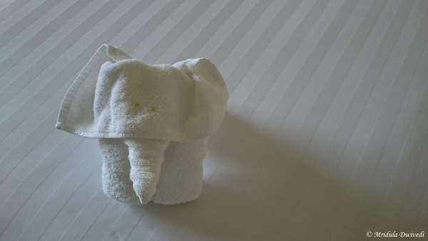 Towel Art in My Room, Sofitel Krabi