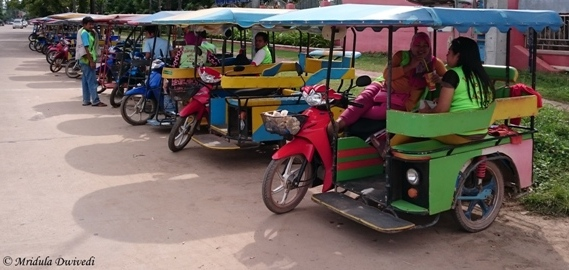 Tuk Tuks at Koh Lanta