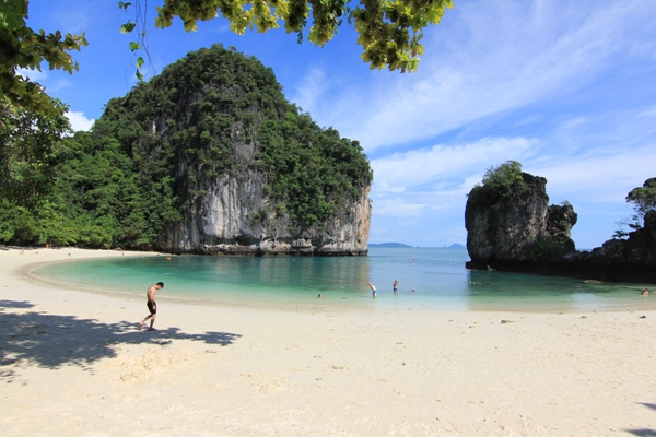 A view of the beautiful Hong Island in Krabi