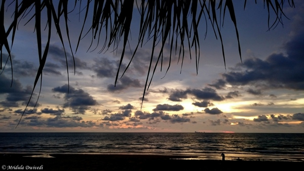 Sunset at Koh Lanta, Thailand