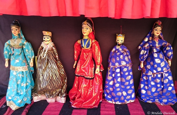 The Puppet Show, City Palace, Jaipur
