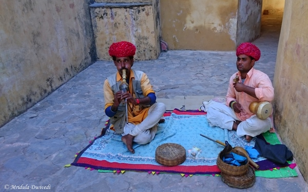 The Snake Charmers, Amber Fort, Jaipur