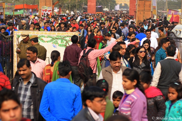 Weekend Crowd at Surajkund Mela