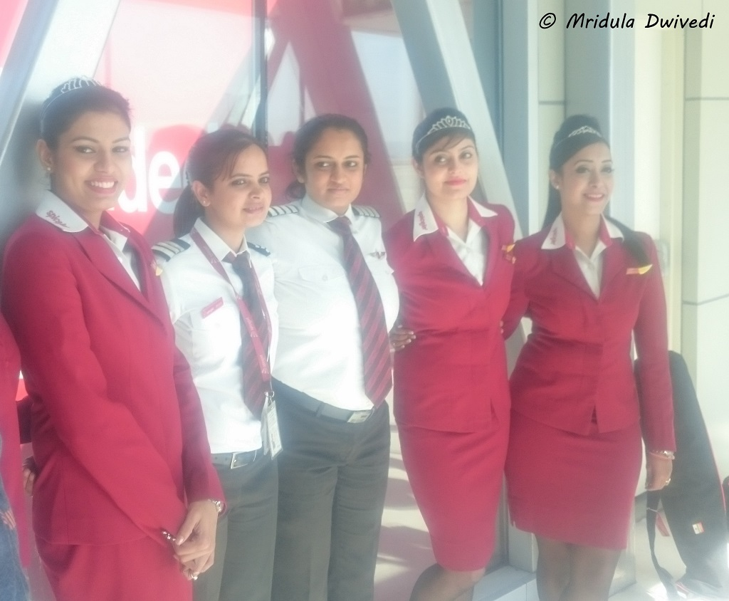 spicejet-all-women-delhi-bangalore-flight