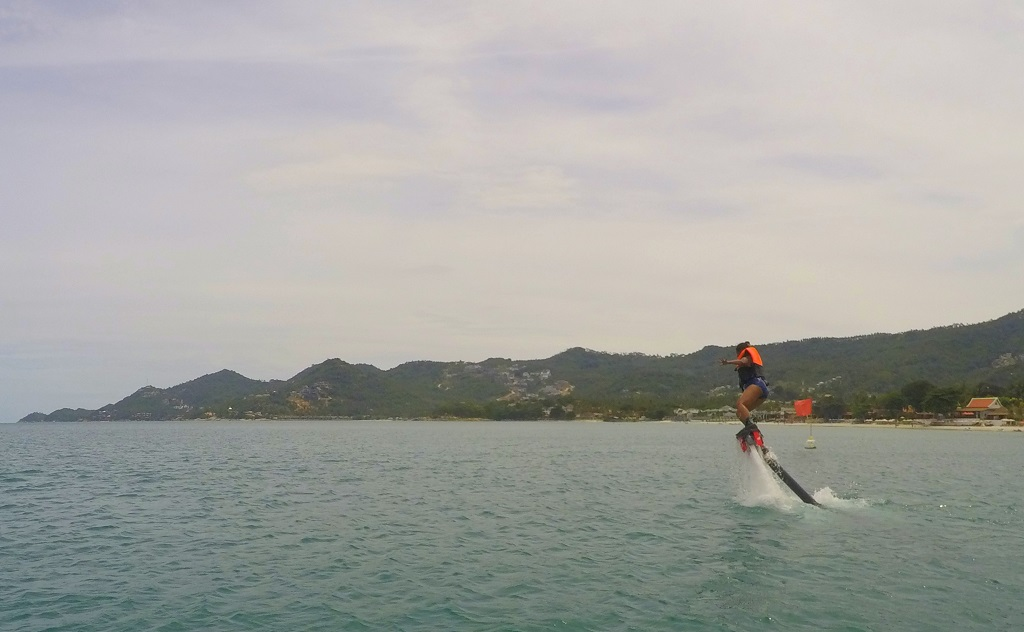 My First Flyboard Experience at Chaweng Beach, Koh Samui, Thailand – Travel Tales from India and ...