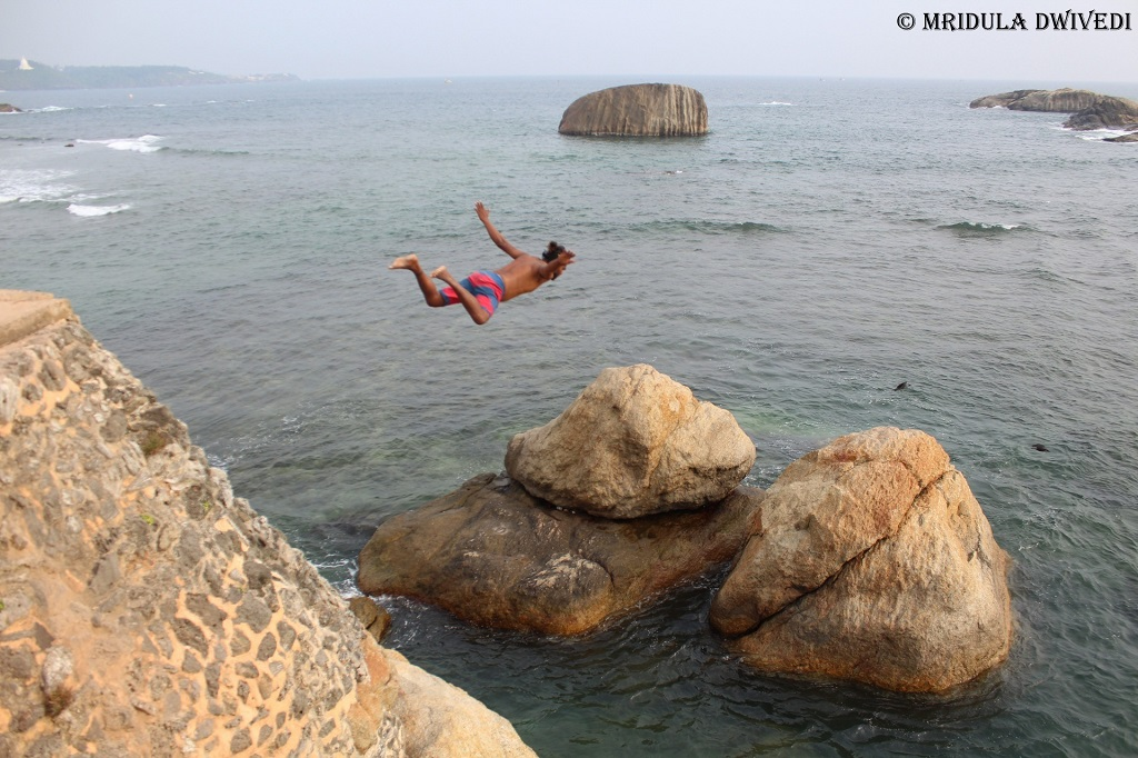 Cliff Jumping Galle